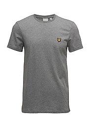 Martin SS T-Shirt - MID GREY MARL