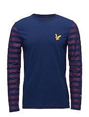 Attaquer LS T Shirt - ADMIRAL BLUE