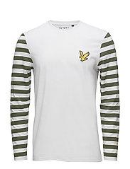 Attaquer LS T Shirt - WHITE