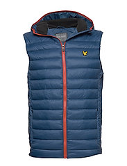Lightweight Quilted Gilet - DEEP FJORD