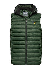 Lightweight Quilted Gilet - DEEP SPRUCE