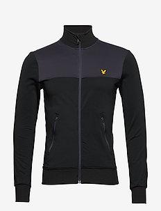 Tech Track Jacket - perus-college-paitoja - true black