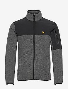 Polartec® Thermal Fleece Jacket - training jackets - rock grey