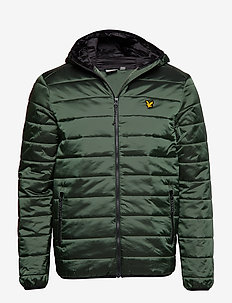 Cooke Jacket : Insulated Foil Jacket with Hood - OLIVE
