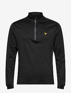 Ventech Golf Midlayer - basic-sweatshirts - true black marl