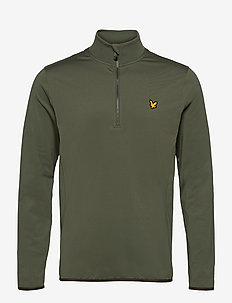 Tech 1/4 Zip Midlayer - basic-sweatshirts - cactus green