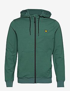 Superwick Full Zip Midlayer - basic sweatshirts - everglade