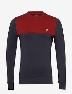 Crew Tech Sweat - basic sweatshirts - graphite