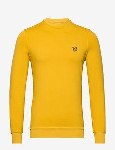 Superwick Crew Neck Midlayer - perus-college-paitoja - burnt yellow
