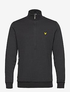 Windshield 1/2 Zip Midlayer - training jackets - true black