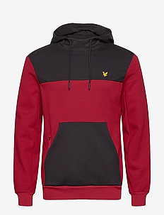 OTH Colour Breaker Tech Fleece - perus-college-paitoja - ruby