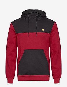OTH Colour Breaker Tech Fleece - basic sweatshirts - ruby