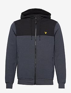 Full-Zip Colour Breaker Tech Fleece - training jackets - observer grey