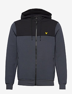 Full-Zip Colour Breaker Tech Fleece - basic sweatshirts - observer grey