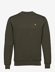 Crew Neck Fly Fleece - basic-sweatshirts - deep spruce