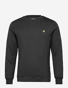 Sleeve Tape Crew - långärmade tröjor - true black