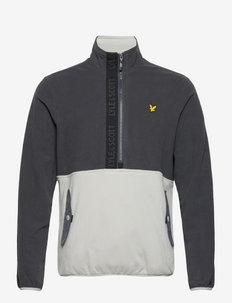 Microfleece Half Zip - fleece - observer grey