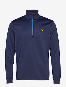 Wick: 1/4 Zip Midlayer - NAVY