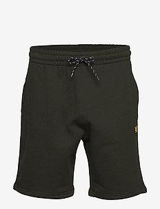 Fleece Short - sports shorts - deep spruce melange