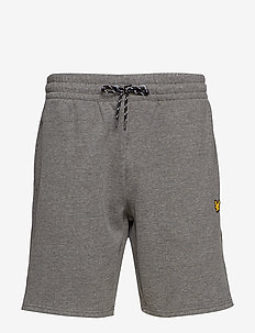 Fleece Short - MID GREY MARL