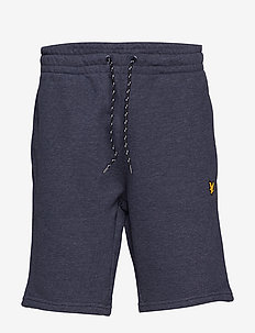 Fleece Short - NAVY MARL
