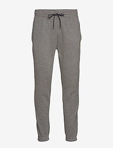 Fleece Track Pant - MID GREY MARL