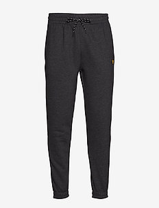 Fleece Track Pant - TRUE BLACK MARL