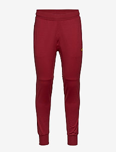 Superwick Track Pants - TURBO RED