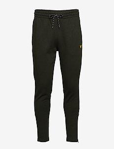 Core Zip Track Pants - DEEP SPRUCE MELANGE