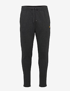 Core Zip Track Pants - pants - true black marl