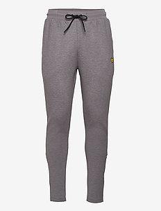 Fly Fleece Trackies - sports pants - mid grey marl