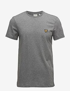 Martin SS T-Shirt - sports tops - mid grey marl