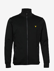 Tech Full Zip Midlayer - basic sweatshirts - true black