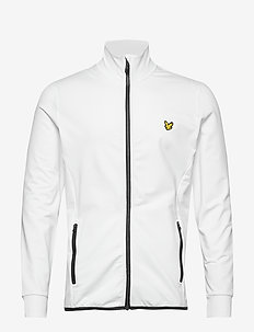 Tech Full Zip Midlayer - perus-college-paitoja - white