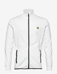 Tech Full Zip Midlayer - basic sweatshirts - white