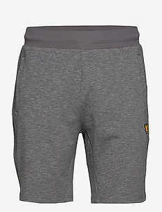 Superwick Shorts - casual shorts - mid grey marl