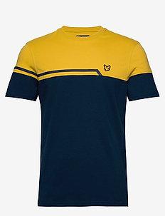 Block T-Shirt - t-shirts - deep fjord