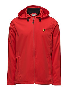 Bennett Hooded running Jacket - SCOOTER RED
