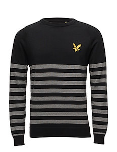 Attaquer Knitted Jumper - TRUE BLACK