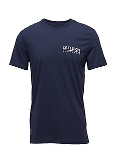 Pendle SS Small Logo T-Shirt - NAVY