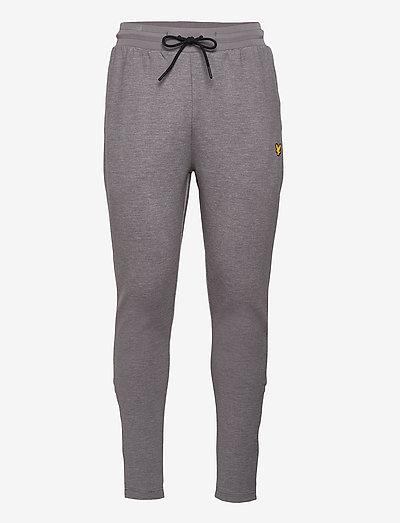 Fly Fleece Trackies - spodnie treningowe - mid grey marl