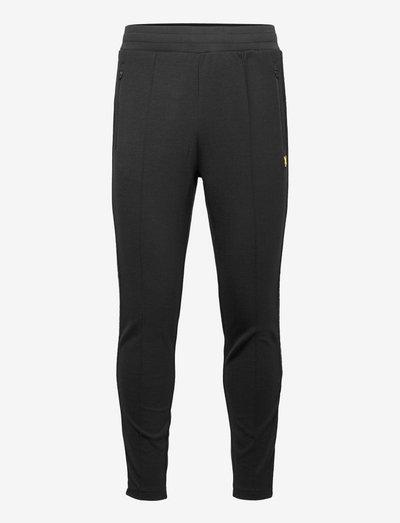 Side Tape Trackies - pants - true black