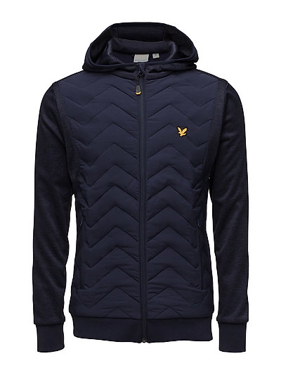 Oates Hooded zip through jckt - NAVY
