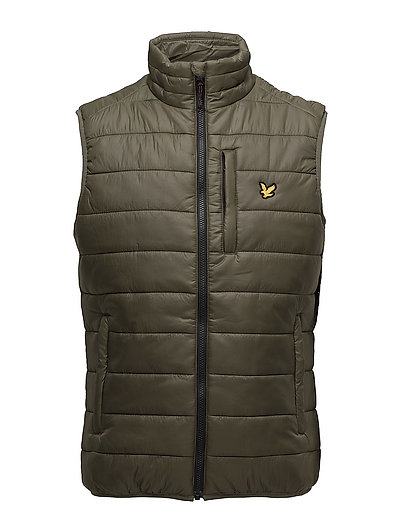 Hudson Gilet : Insulated zip through Gilet - OLIVE