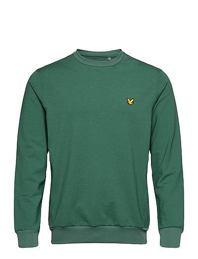 Superwick Crew Neck Midlayer Sweat-shirt Pullover Grün LYLE & SCOTT SPORT