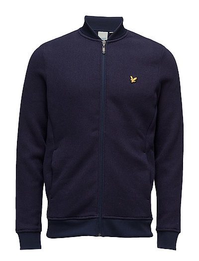 James Knitted Fleece Midlayer - NAVY
