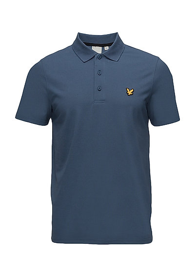 Heatly SS Polo - BLUE STEEL