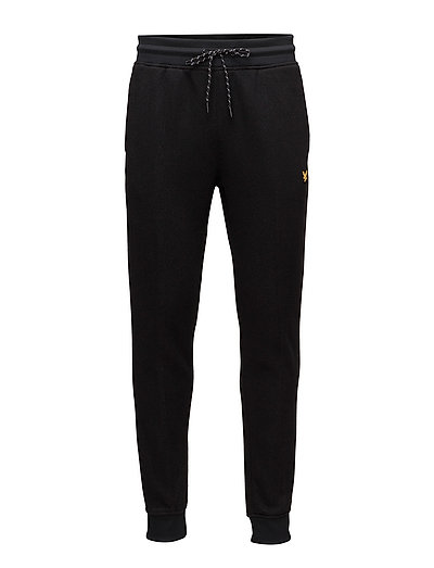 Fergusson Knitted Fleece Track Pant - TRUE BLACK