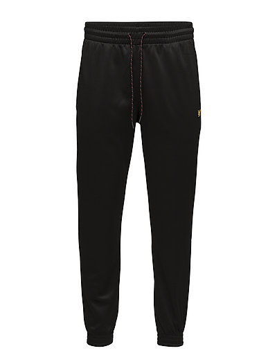 Hislop Fleece Track Pant - TRUE BLACK