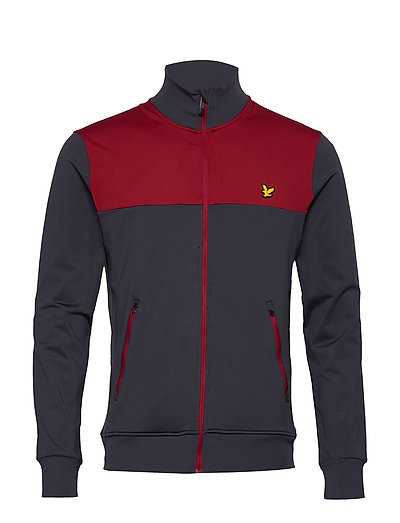 Tech Track Jacket Sweat-shirt Pullover Schwarz LYLE & SCOTT SPORT
